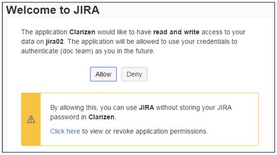 JIRA Integration V2 – Clarizen Success