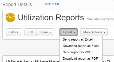 Creating and Using Reports – Clarizen Success